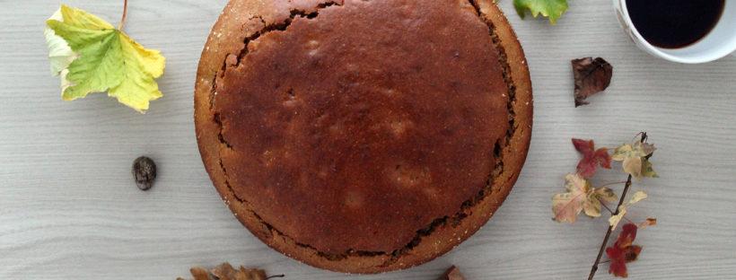 Torta rustica con farina di farro integrale noci e albicocche secche